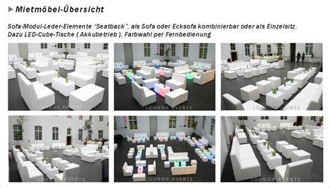 Lounge Möbel Mieten by Lounge Events Mietm 246 Bel Loungem 246 Bel Mieten Led M 246 Bel