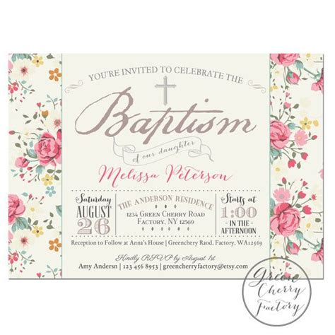 printable baptism invitation cards free printable baptism invitation girl baptism by