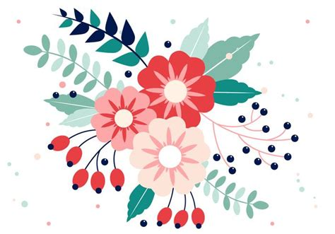 free design resources vector free vector spring flower design download free vector