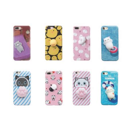 Oppo F1s Softcase Squishy squishy soft print iphone 5 5s se 6