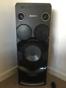 sony home audio system sony home audio system mhc v7d in plymouth gumtree