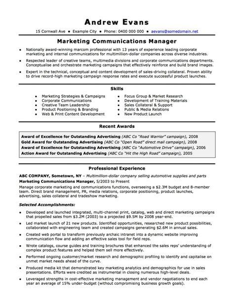 Coo Resume Sample by Australian Resume Resume Cv Template Examples