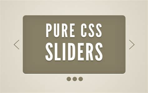 tutorial css slider pure css3 sliders and tutorials