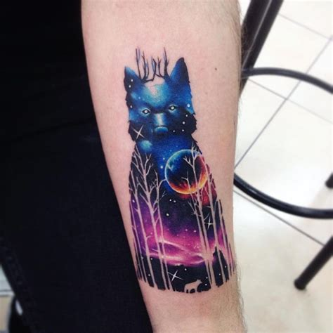 watercolor tattoo galaxy stunning watercolor tattoos by adrian bascur kickass things