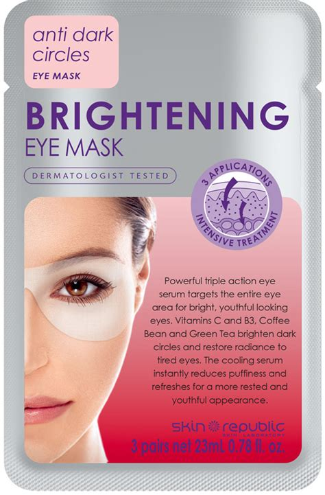 Brightening Mask skin republic brightening eye mask reviews beautyheaven