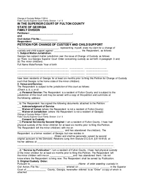 Custody Search Sle Of Child Custody Petition Search Engine At Search