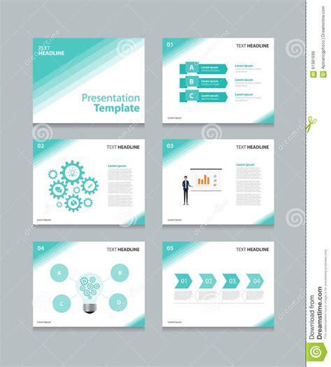 design concept presentation template business vector template presentation slides background