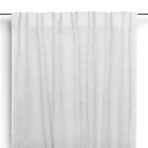 tende bastone tenda a bastone in lino moderna bianco panna cuore di lino