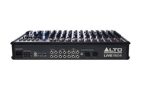 Mixer Live alto live 1604 16 channel mixer