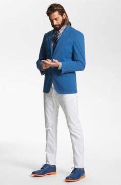 de moda blazer azul marino camisa de vestir blanca pantalon de salmon colored herringbone blazer men s fashion