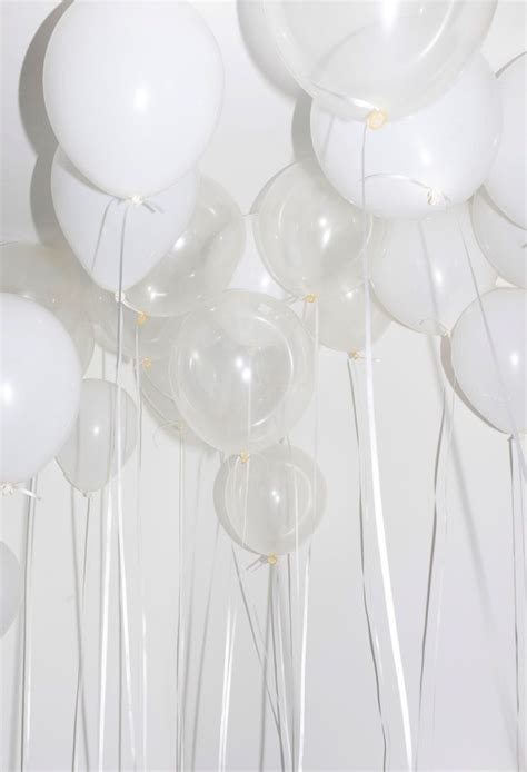17 best ideas about white balloons on white