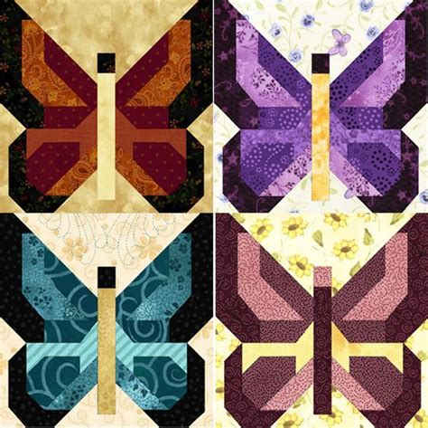 butterfly quilt patterns  printable