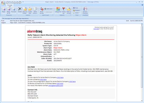 create email template outlook 2007 alarmtraq dynamic html email templates