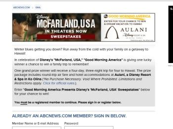 Good Morning America Sweepstakes - good morning america disney s mcfarland usa sweepstakes sweepstakes fanatics