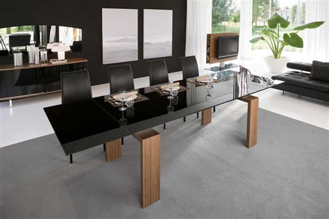 contemporary dining room table stylish contemporary dining table ideas showing simple