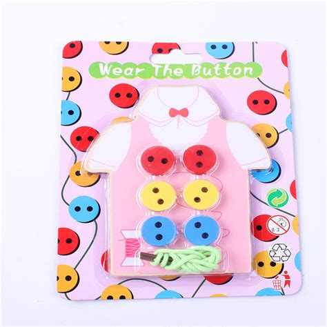 Handmade Childrens Toys - children s educational handmade stitch to wear buttons