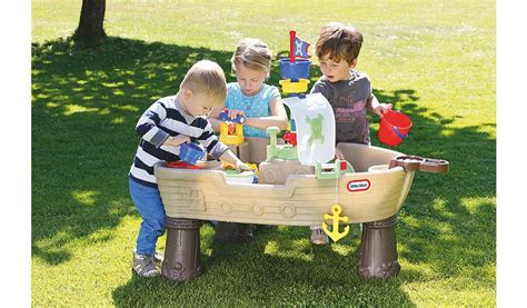 tikes anchors away pirate ship water play table tikes anchors away pirate ship water table toys