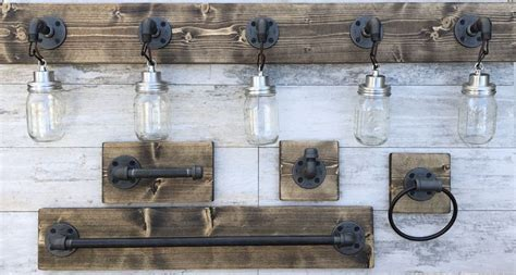 cool bathrooms bathroom set rustic mason ideas collection the 25 best rustic towel rings ideas on pinterest