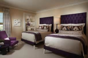 Is a motto of this plum and cream bedroom cream and plum bedroom is