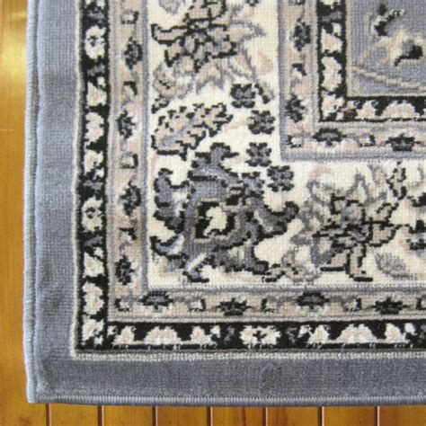 grey traditional rug ruby grey 6333 traditional rug temple webster