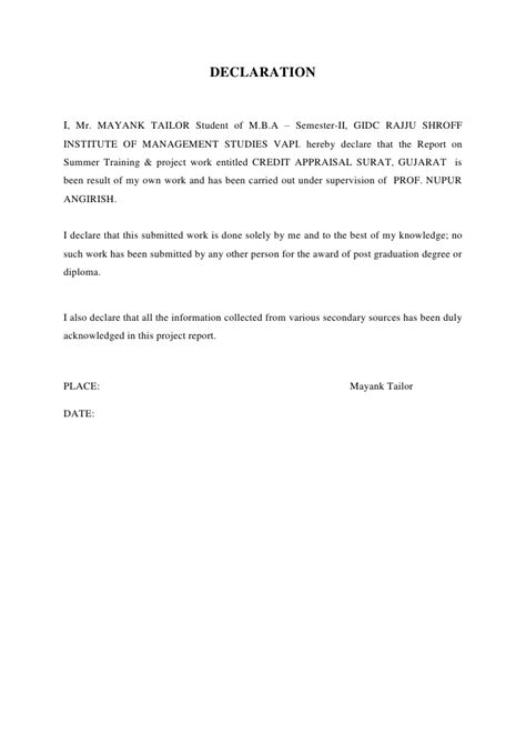 Complaint Letter To Central Bank Of India Credit Appraisal At Central Bank Of India