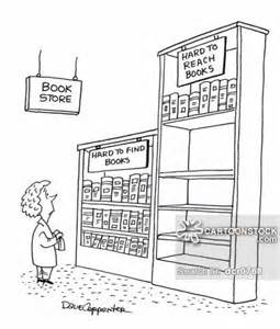 Long Short Bookshelf Hard To Reach Cartoons And Comics Funny Pictures From