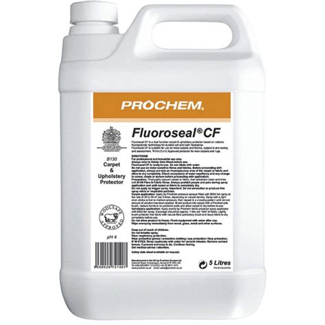 Stain Guard For Upholstery by 09 B130 Prochem Fluorseal Cf Carpet Stain Protector 5l