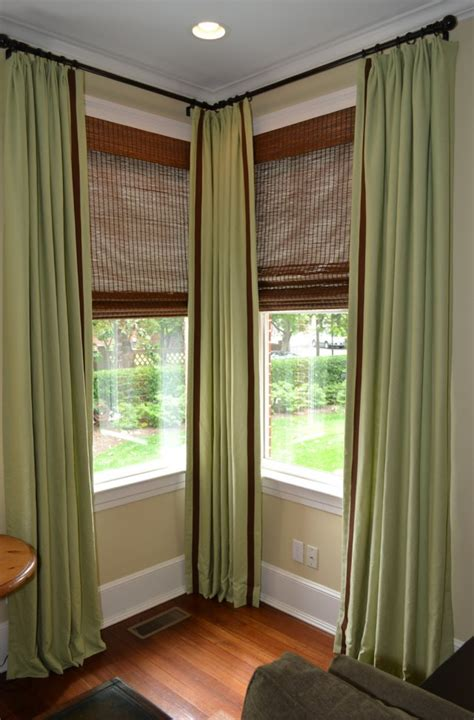 corner window curtain rod set corner window curtain rod set home design ideas