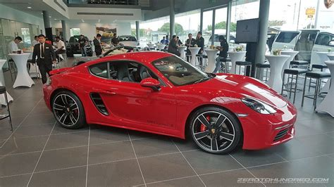 porsche malaysia penang porsche launches the 718 cayman s zerotohundred com