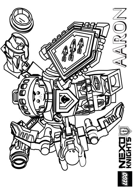 nexo knights coloring pages aaron aaron coloring page lego nexo knights coloring pages