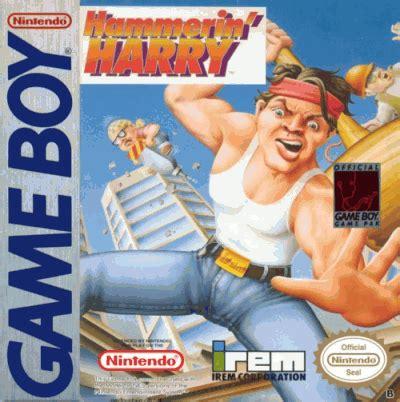 hammerin' harry ghost building company gameboy(gb) rom