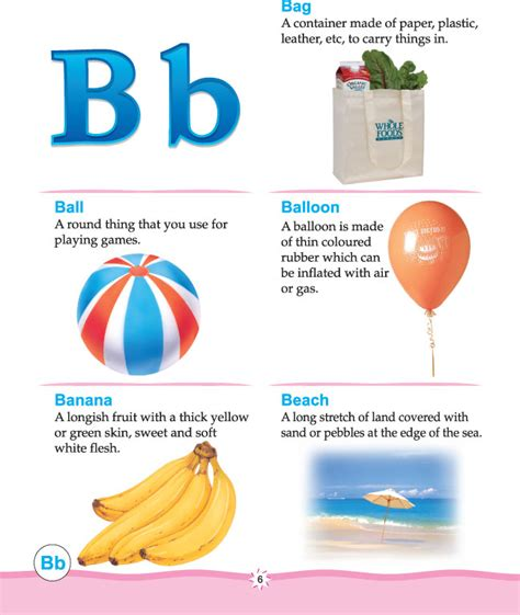 printable alphabet dictionary printable picture dictionary alphabet b download free
