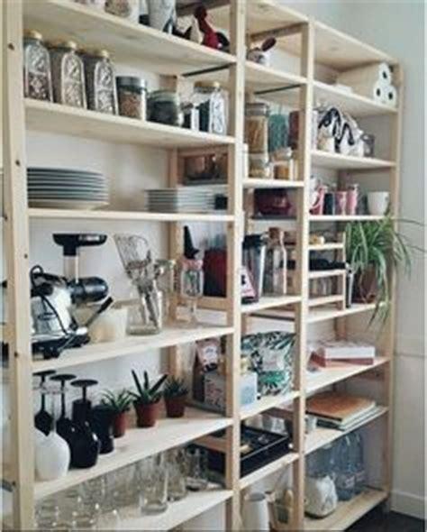 ordnungssystem speisekammer ivar 3 section shelving unit w cabinets pine pine i