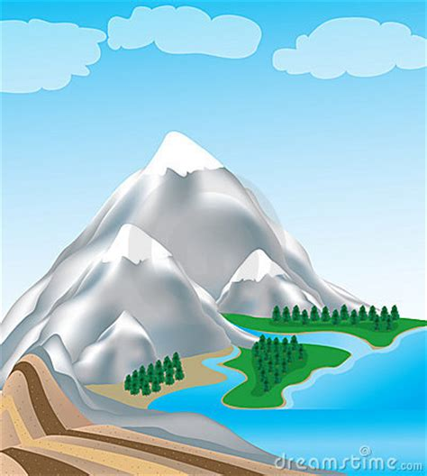 mountain water clipart   cliparts  images  clipground