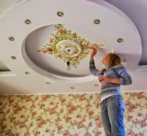 how to decorate the ceiling with own quot quot