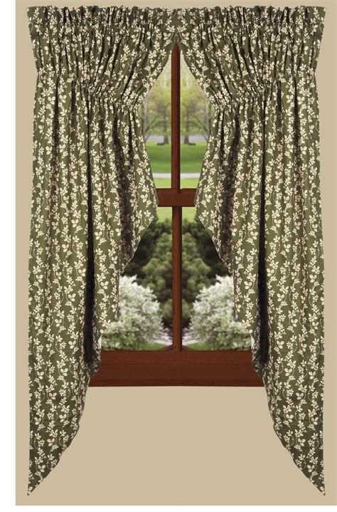 gathered swag curtains charlotte floral gathered swag curtains