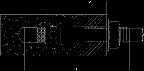 bolt detail drawing anchor bolt dwg block for autocad designs cad