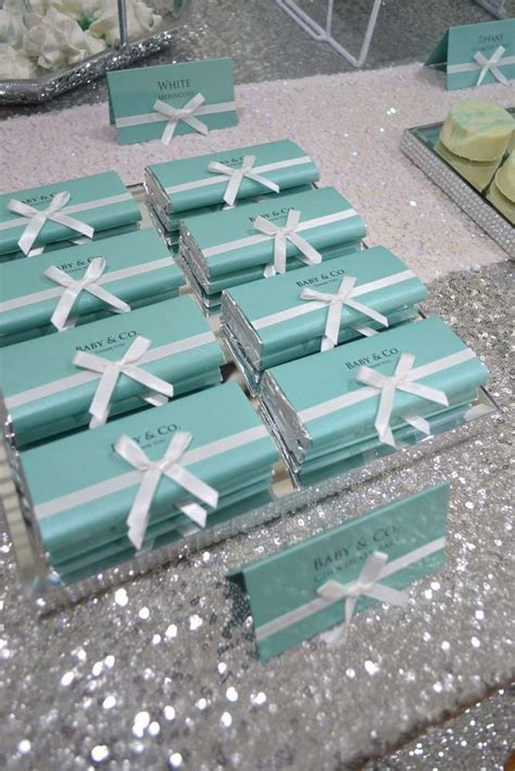 tiffany amp co baby shower party ideas photo 1 of 11