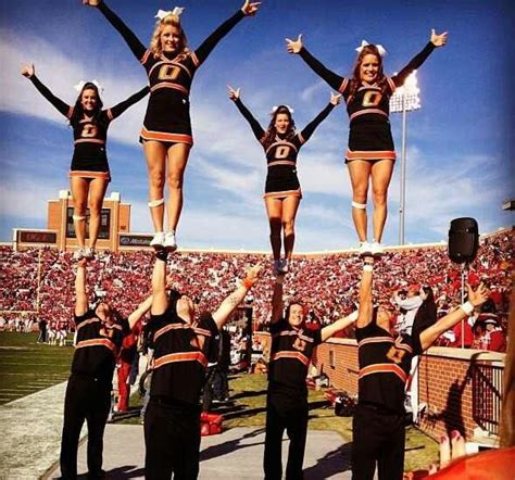 oklahoma state university cheerleaders 2015 17 best images about osu cheer on pinterest each day