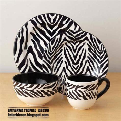 zebra pattern kitchenware the best zebra print decor ideas for interior designs