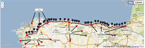 camino de santiago northern route details of the most popular camino de santiago routes