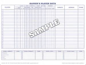 Soccer Stat Sheet Template by Baseball Scorebook And Softball Scorebooks From S
