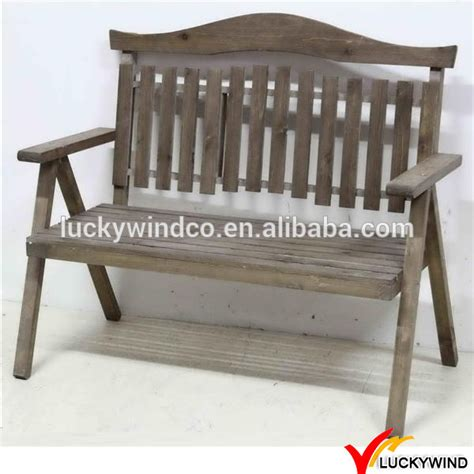 vintage style wooden garden bench with fashioned armrest cozy garden bench ideas for country style antique wooden outdoor garden bench buy garden bench antique wooden