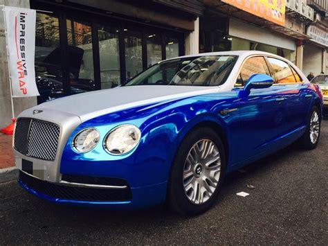 blue bentley 2015 bentley flying spur blue 200 interior and exterior