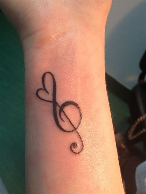 heart music note tattoo best 25 note tattoos ideas on