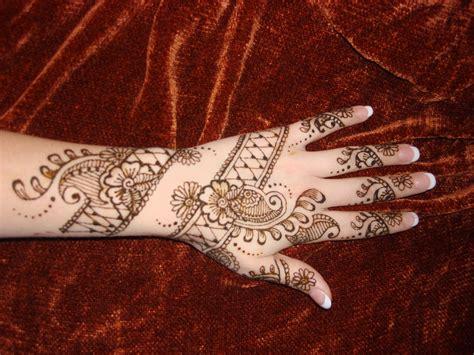 full hand tattoo designs beautiful simple arabic indian bridal
