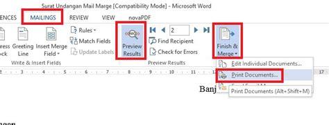 format tanggal di mail merge download format undangan menggunakan mail merge