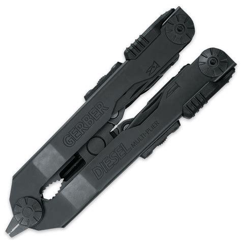 gerber diesel black gerber diesel black multi tool with sheath kennesaw cutlery