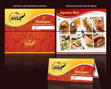desain kartu nama warung makan pilih paket desain kartu undangan sribu