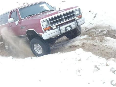 dodge ramcharger specs  modification
